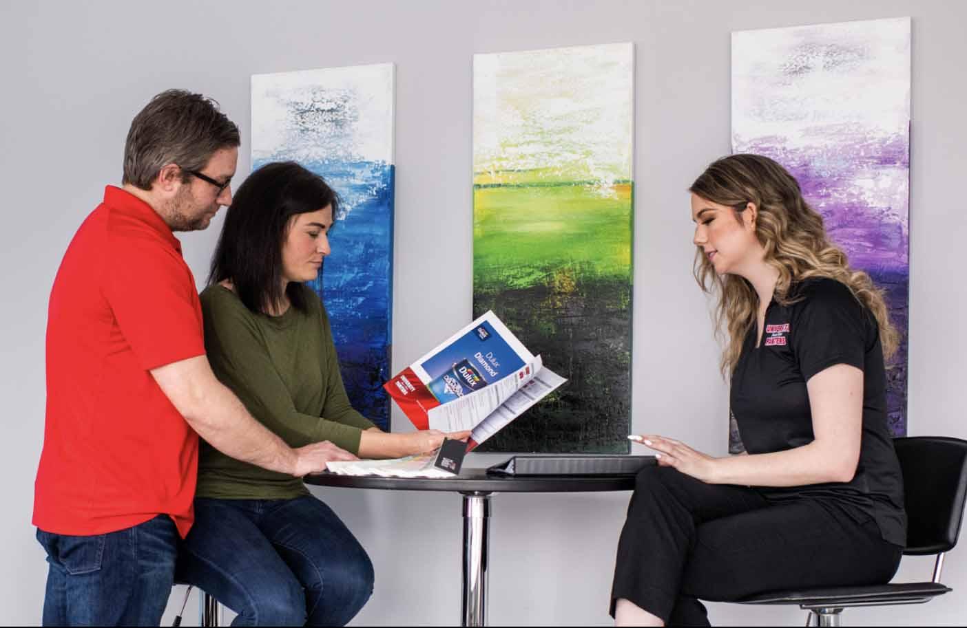 painter services decision process consultation