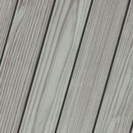 PPG Fog Gray deck stain example