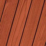 PPG Mahogany - red deck stain colour sample