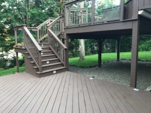 exterior painting for deck and fences - ufcp