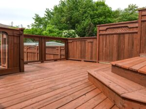 red coloured deck image