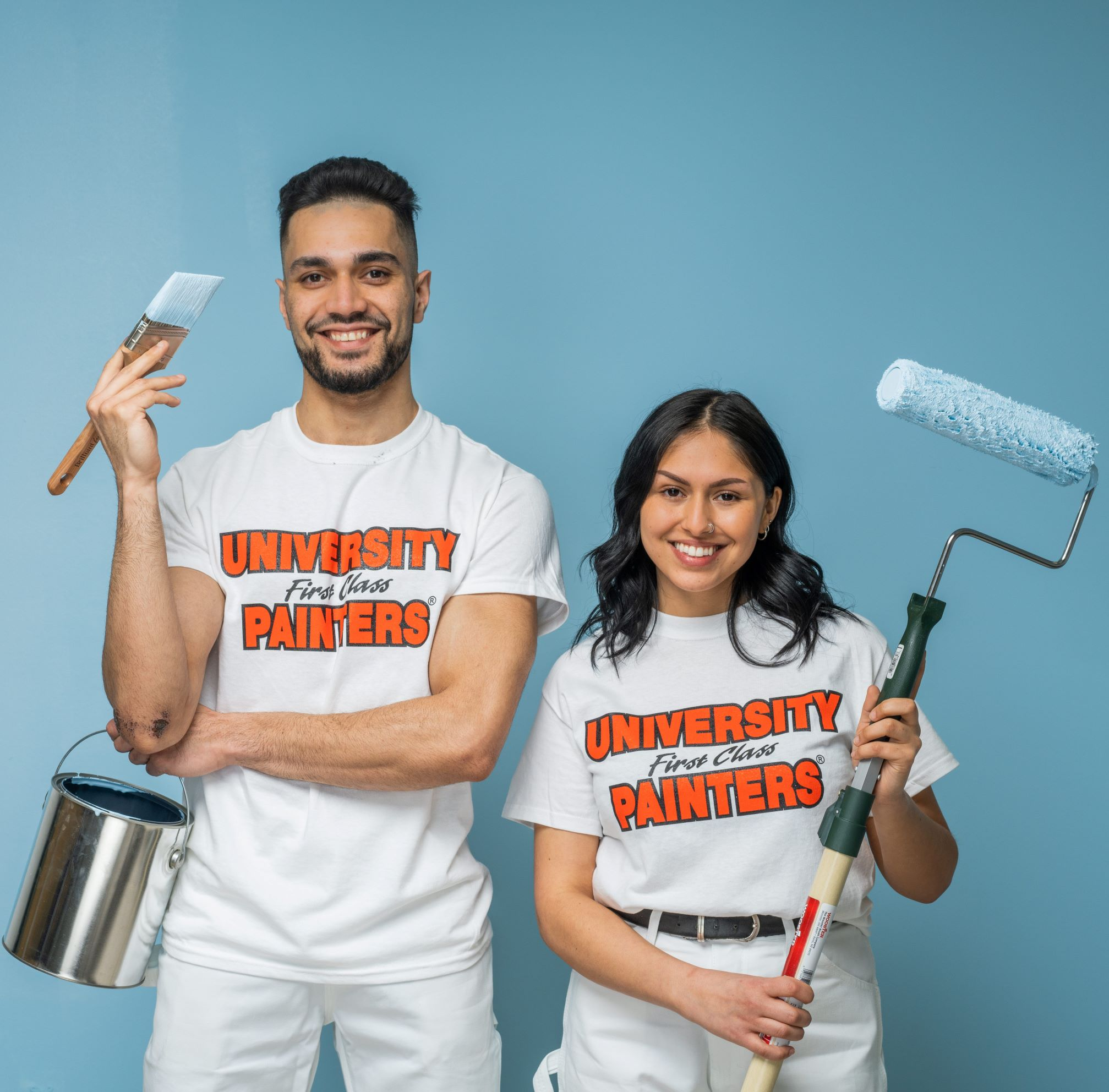student managers painters